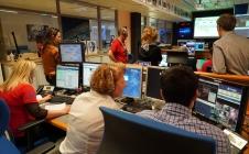 Expérience ECHO le 18 avril 2017 au CADMOS (CNES)