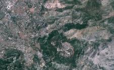 Région de Marseille observée par Venus le 18 août 2017