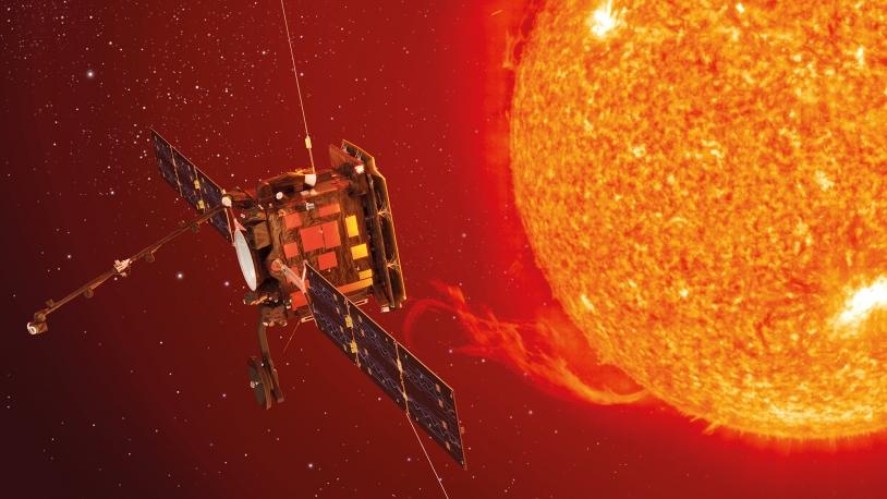 Illustration de la sonde Solar Orbiter